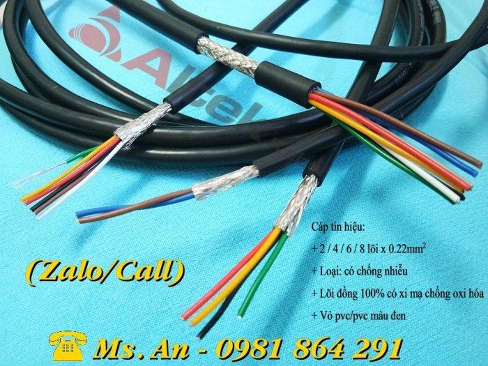 Cáp tín hiệu Altek Kabel 2,4,6,8 lõi tiết diện 0.22mm2 giá tốt4