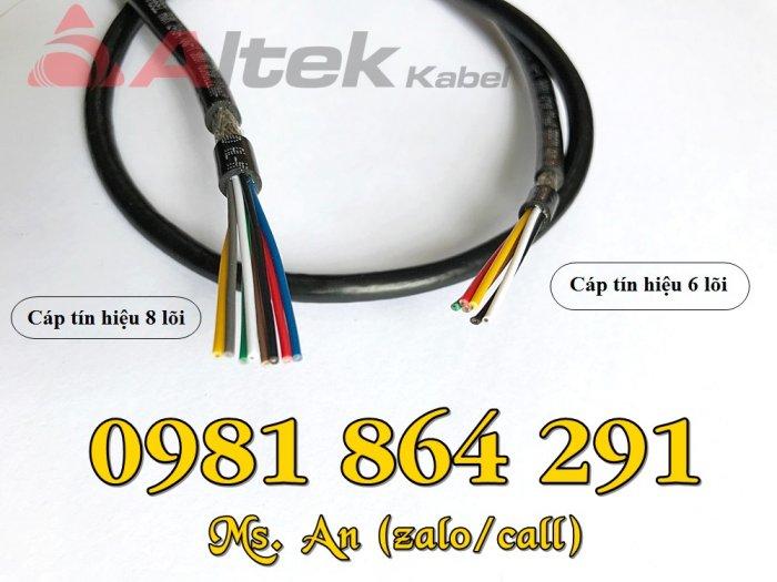 Cáp tín hiệu Altek Kabel 2,4,6,8 lõi tiết diện 0.22mm2 giá tốt1
