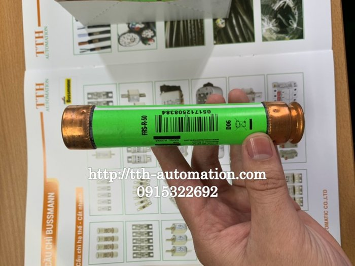 Cầu chì Bussmann JRS-R-50 - TTH Automatic : 09153226921