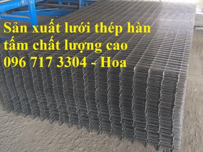 Sản xuất lưới thép hàn D4,D5, D6, D7, D8,D9,D10, D11, D123