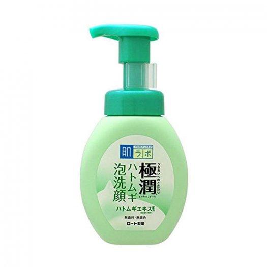 Sữa Rửa Mặt Tạo Bọt Làm Sạch Sâu Hada Labo Gokujyun Hyaluronic Acid Bubble Face Wash 160ml1