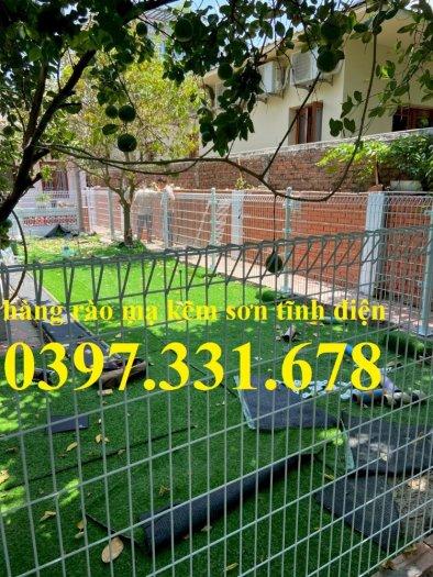 Hàng rào lưới thép, lưới thép hàng chập, lưới thép hàn phi 3, 4, 5 giá sỉ7