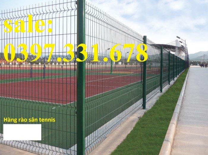 Hàng rào lưới thép, lưới thép hàng chập, lưới thép hàn phi 3, 4, 5 giá sỉ5
