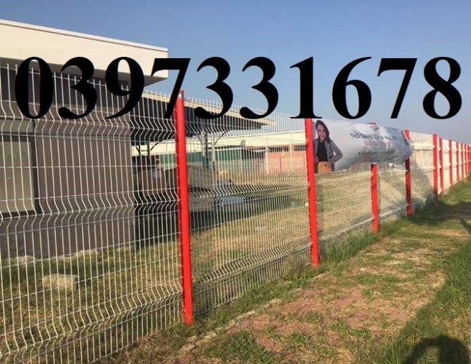 Hàng rào lưới thép, lưới thép hàng chập, lưới thép hàn phi 3, 4, 5 giá sỉ4