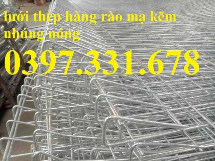 Hàng rào lưới thép, lưới thép hàng chập, lưới thép hàn phi 3, 4, 5 giá sỉ1