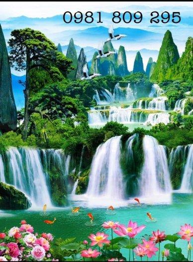 Tranh gạch men phong cảnh thiên nhiên1