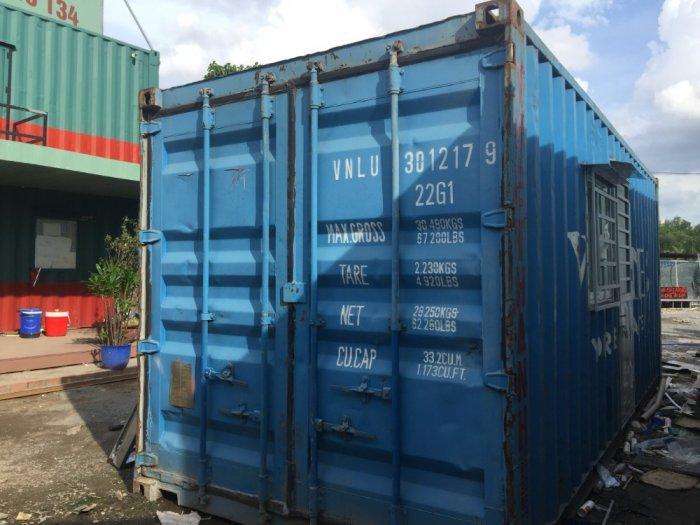Thùng container làm văn phòng1