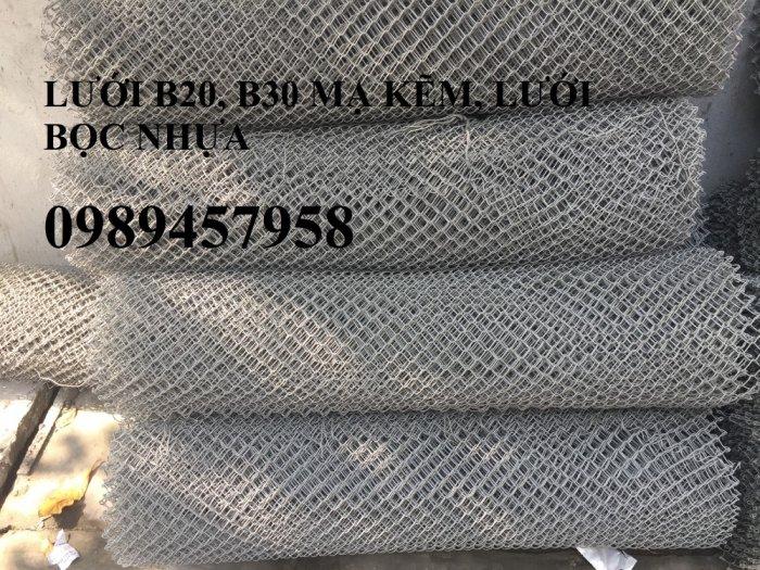 Nhà sản xuất lưới thép hàng rào B20, Lưới B30, Lưới B40 bọc nhựa và mạ kẽm5