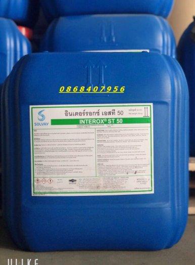 H2O2 50% (Oxy già) Thái Lan cung caaso Oxy ao nuôi0