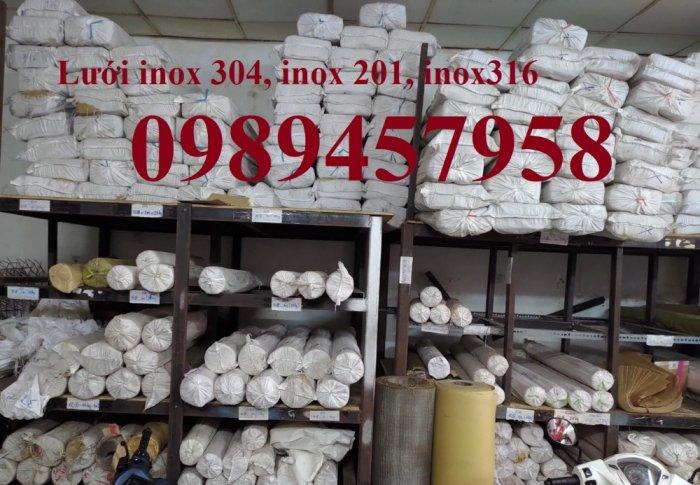 Lưới inox304 giá tốt nhất Hà Nội 1x1, 2x2, 3x3, 5x5, 10x100