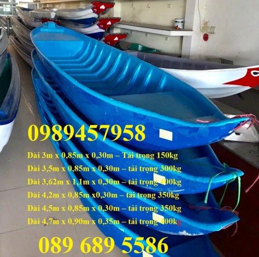 Bán Thuyền chèo tay cho 3 người, Thuyền composite giá rẻ6