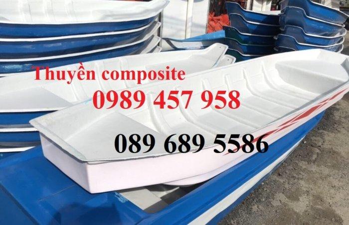 Bán Thuyền chèo tay cho 3 người, Thuyền composite giá rẻ5