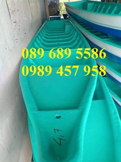 Bán Thuyền chèo tay cho 3 người, Thuyền composite giá rẻ1