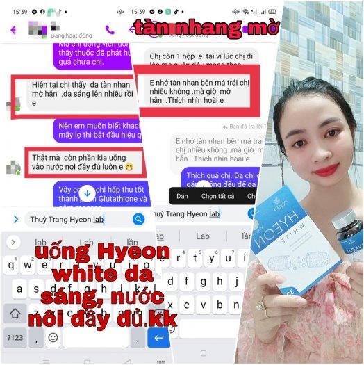 Viên uống trắng da Hyeon white - chính hãng - giá tốt3