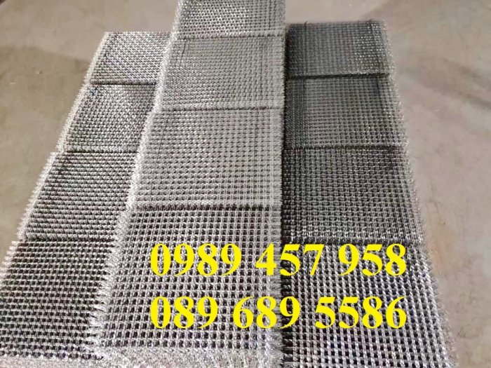 Chuyên Lưới đan 2ly 20x20, 30x30, 40x40, Lưới inox 3ly ô 50x50 sấy thực phẩm, Lưới hàn inox các loại9