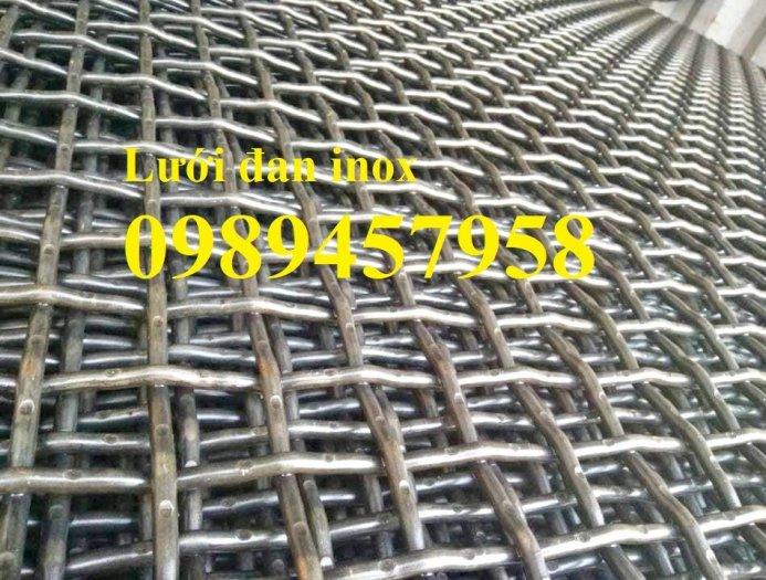 Chuyên Lưới đan 2ly 20x20, 30x30, 40x40, Lưới inox 3ly ô 50x50 sấy thực phẩm, Lưới hàn inox các loại0