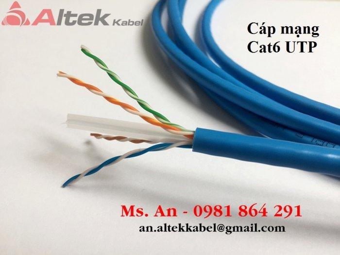 Cáp mạng ngoài trời UTP Cat6 hàng nhập khẩu nguyên cuộn1