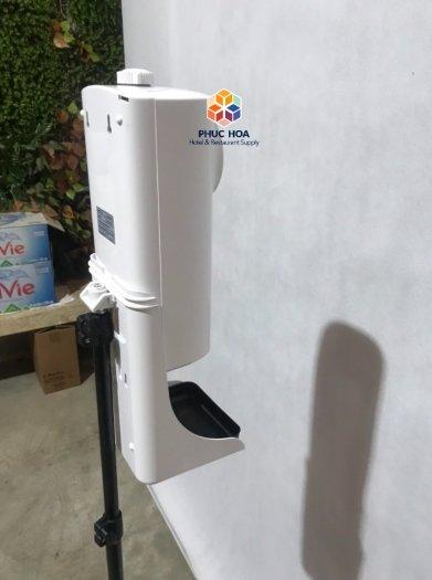 Máy rửa tay cảm ứng tự động, tích hợp đo thân nhiệt2