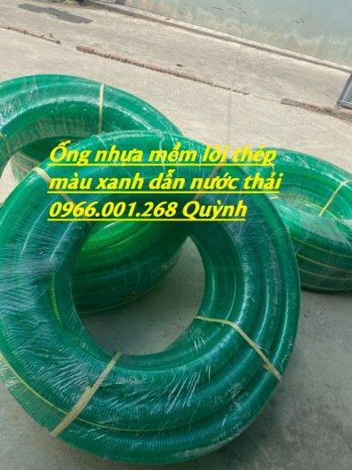 Phân phối ống nhựa PVC lõi kẽm, ống nhựa mềm lõi thép phi 100,phi 110,phi 120,phi 150,phi 200 giao hàng toàn quốc9