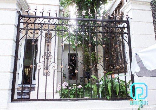 50+ mẫu hàng rào biệt thự, nhà phố cổ điển sáng tạo được gia công tinh xảo3