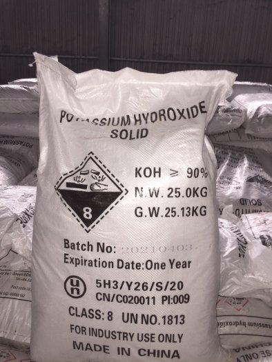 Potassium hydroxide solid (KOH) – Trung Quốc0
