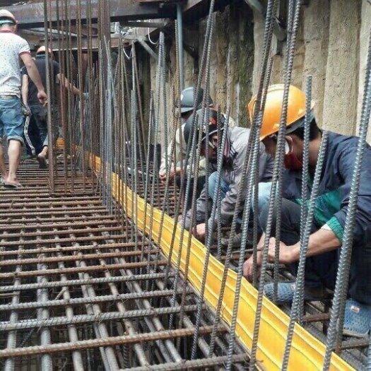 Băng cản nước chống thấm tầng hầm pvc O15-cuộn 20m giá ưu đãi0