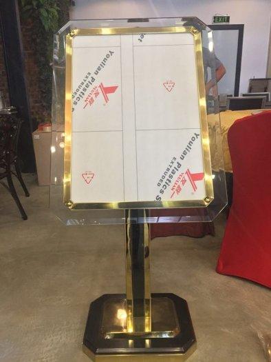 Bản biển chỉ dẫn menu nhà hàng - khách sạn P-300