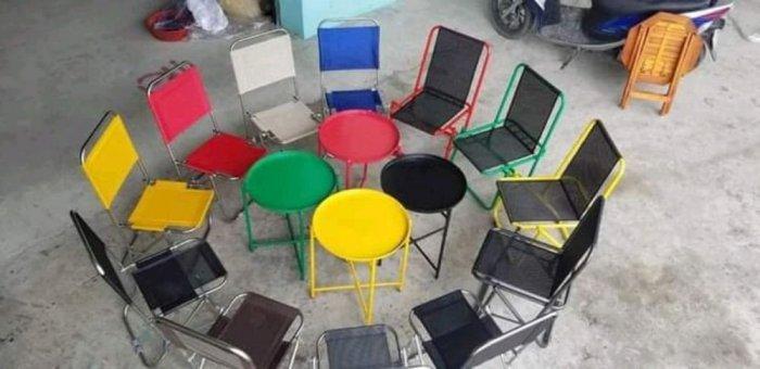 Cần thanh gấp 150 ghế xếp lưới giá sỉ tại xưởng sản xuất anh khoa 4670