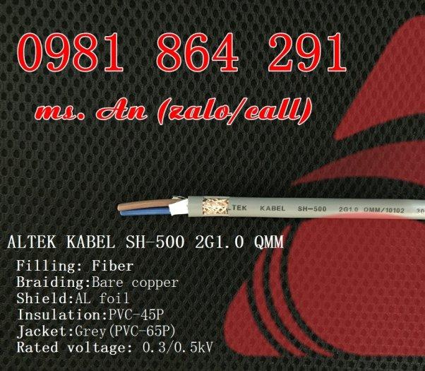 Sẵn kho số lượng lớn cáp điều khiển 2 lõi CT500,SH500 tiết diện 0.5 đến 1.5mm22