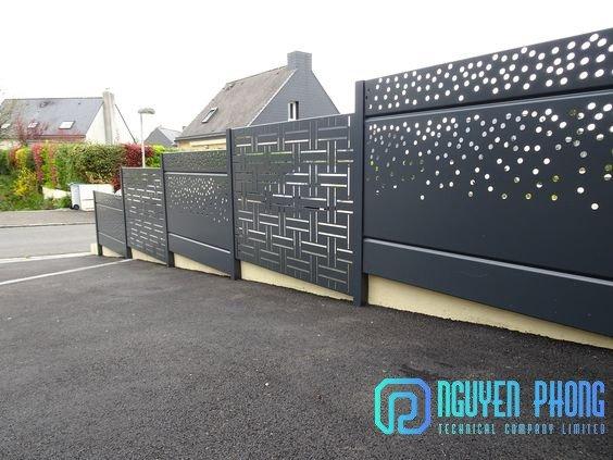 Tổng hợp mẫu hàng rào sắt CNC đẹp rẻ với công nghệ sơn tốt nhất hiện nay5