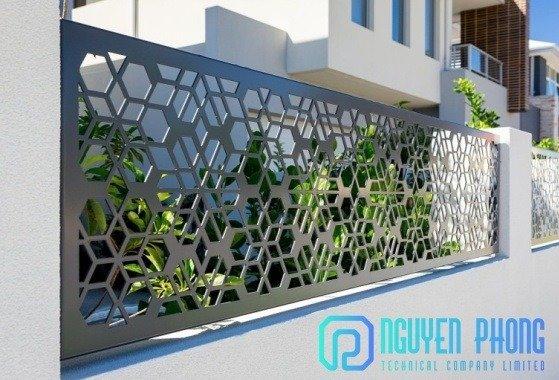 Tổng hợp mẫu hàng rào sắt CNC đẹp rẻ với công nghệ sơn tốt nhất hiện nay1
