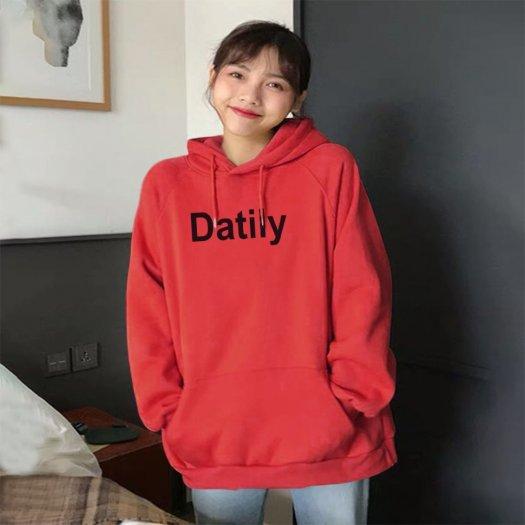 Áo Khoác Nỉ Hoodie In Datlity8
