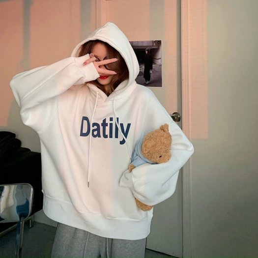 Áo Khoác Nỉ Hoodie In Datlity1