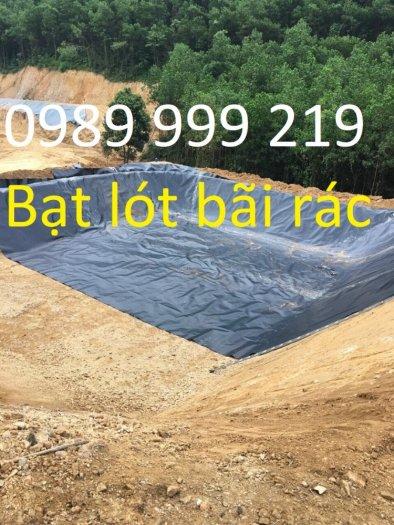 Bạt đen 2 mặt hdpe 0.3mm khổ 5mx20m cuộn 100m2 lót dải đường5