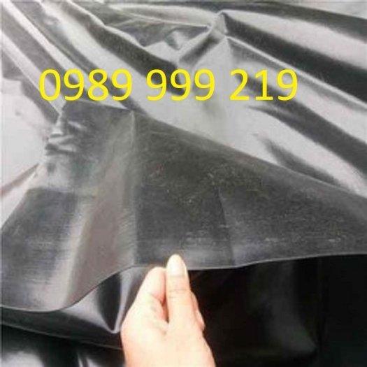Bạt đen 2 mặt hdpe 0.3mm khổ 5mx20m cuộn 100m2 lót dải đường2