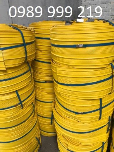 Băng cản nước pvc V300-cuộn 20m dài chống thấm dầm cốt thép1