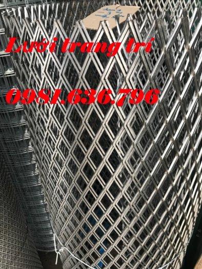Lưới thép hình thoi, lưới thép trang trí, lưới mắt cáo.2