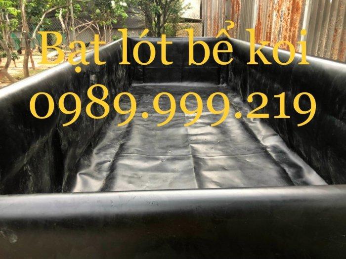 Màng Chống Thấm Hdpe 0.3mm khổ 6x20m cuộn 120m lót bể nuôi ốc1