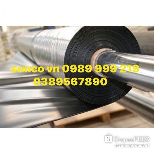 Bạt đen hdpe chống thấm 0.3mm khổ 6mx20m -120m2 lót bẻ chứa nước thải3
