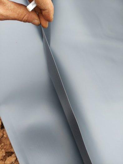 Bạt đen hdpe chống thấm 0.3mm khổ 6mx20m -120m2 lót bẻ chứa nước thải2