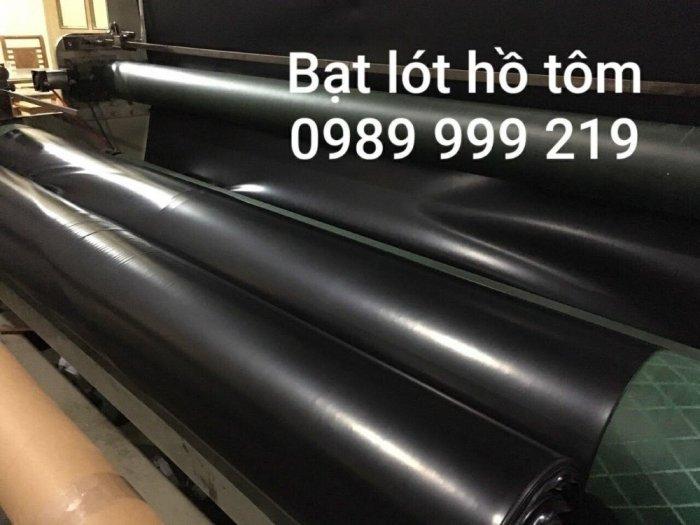 Bạt đen hdpe chống thấm 0.3mm khổ 6mx20m -120m2 lót bẻ chứa nước thải0