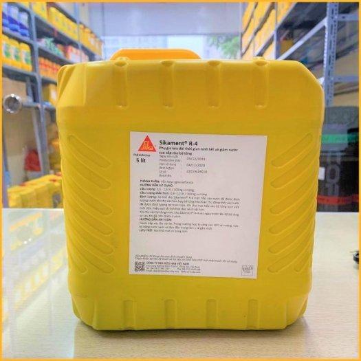 Sikament-1 R4 (Can 5 Lít) Phụ Gia mau đông bê tông0