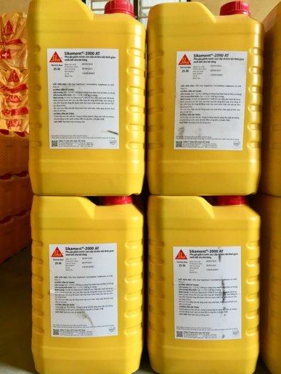 Sikament-2000 AT (Can 25 lít) - Phụ gia giảm nước SIKA THẾ VŨ0