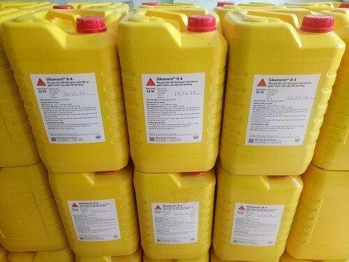 Sikament-1 R4 (Can 25 Lít) Phụ Gia mau đông bê tông SIKA THẾ VŨ0