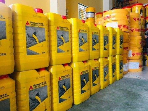 Sikament R-7 N (can 25 lít) - Sika Phụ gia giảm nước, kéo dài thời gian ninh kết bê tông0