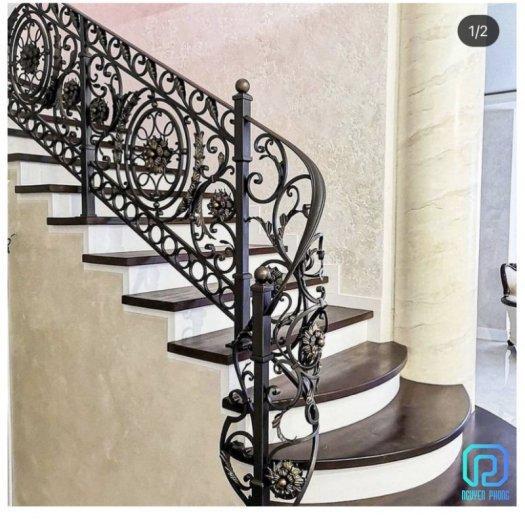 5 tips khi chọn cầu thang sắt mỹ thuật để ngôi nhà trở nên sang trọng đẳng cấp hơn3