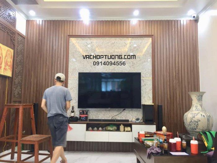 Vách ốp tường gỗ nhựa tại Hà Nội1