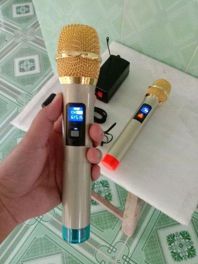 Bộ Micro không dây tiếng hay (hàng mới)0