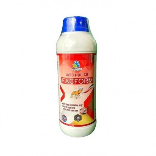 FACFORM Acid hữu cơ: Cân bằng acid đường ruột. Loại bỏ phân lỏng, phân trắng trên tôm0