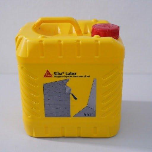 Phụ gia chống thấm SIKA THẾ VŨ - Sika Latex (can 5 lít)0